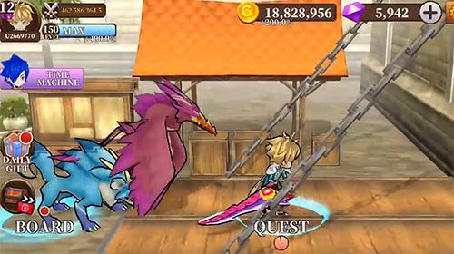 Online RPG Endless quest: Hades blade. Free idle RPG games auf Deutsch