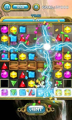 Arcade Jewels saga for smartphone