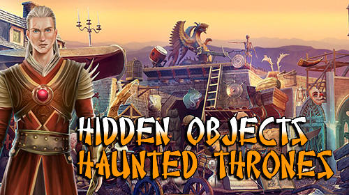 Hidden objects haunted thrones: Find objects game Screenshot