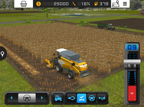 Simulation: download Farming simulator 16 for your phone