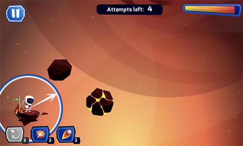 Arcade Space golf galaxy für das Smartphone