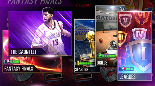 Sports games NBA 2K Mobile basketball for smartphone