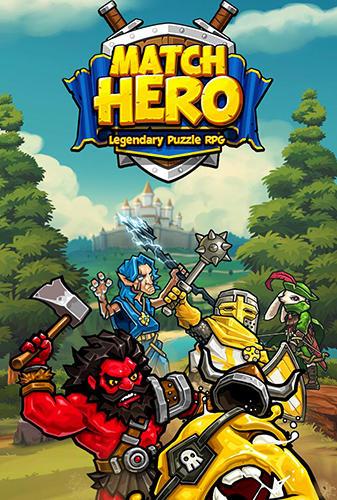 Match hero: Legendary puzzle RPG captura de pantalla 1