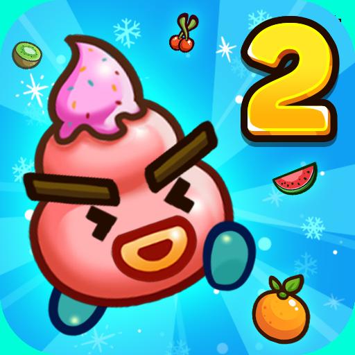 Fruit Ice Cream 2 - Ice cream war Maze Game ícone