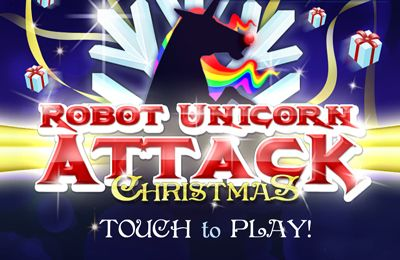 logo Robot Unicorn Attack Christmas Edition