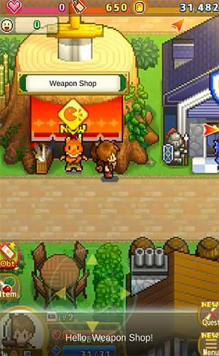RPG Quest town saga für das Smartphone