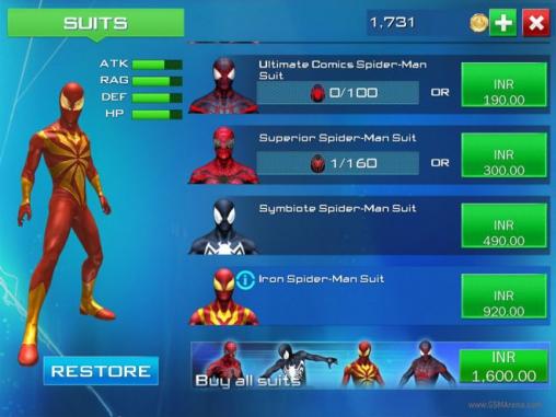 Экшен (Action) игры: скачать The amazing Spider-man 2 на телефон