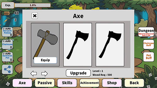 Tap tap axe для Android