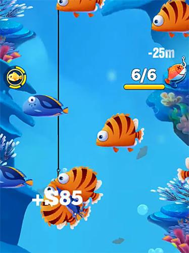 Arcade-Spiele Fisherman go! für das Smartphone