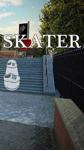 логотип Скейтбордист