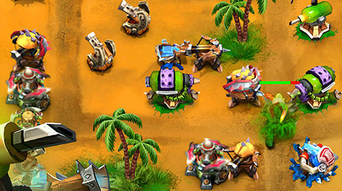 TD: Goblin defenders. Towers rush für Android
