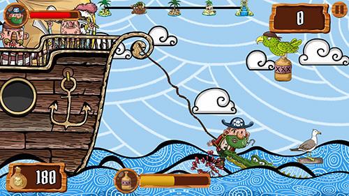 Rope pirate escape Screenshot