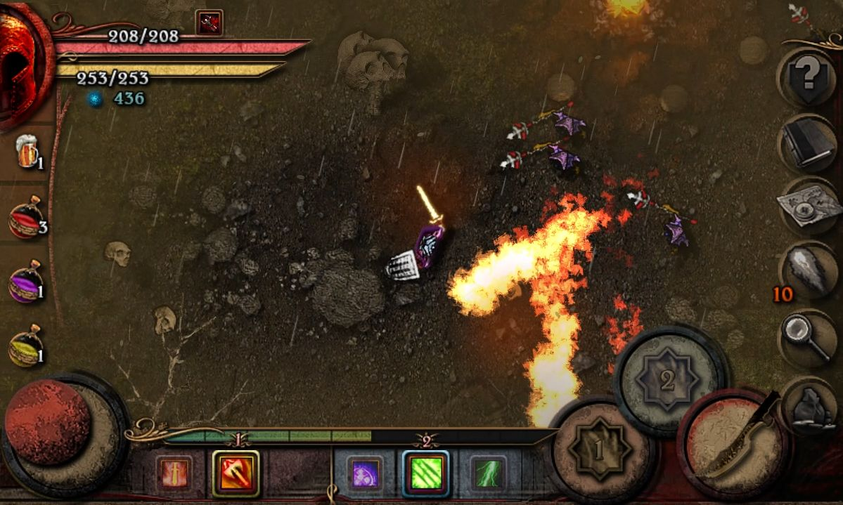 Almora Darkosen RPG para Android