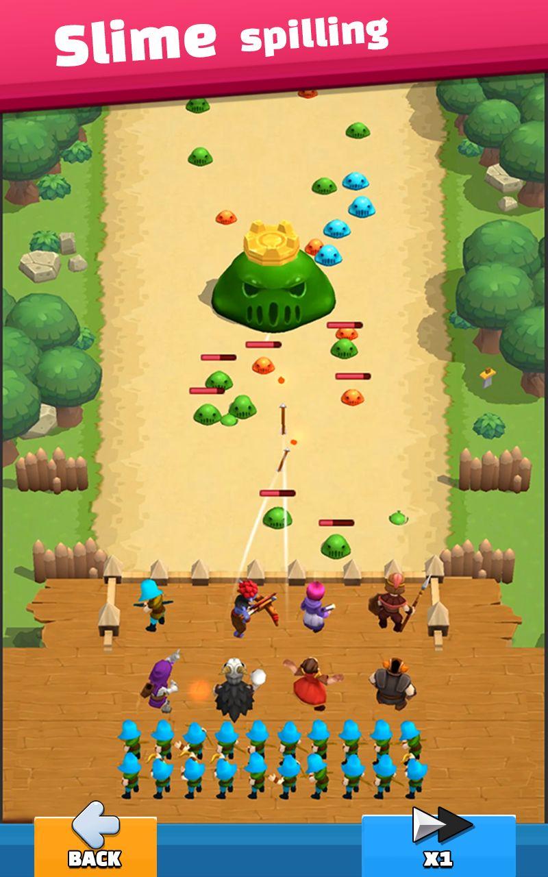 Wild Castle: 3D Offline Game screenshot 1