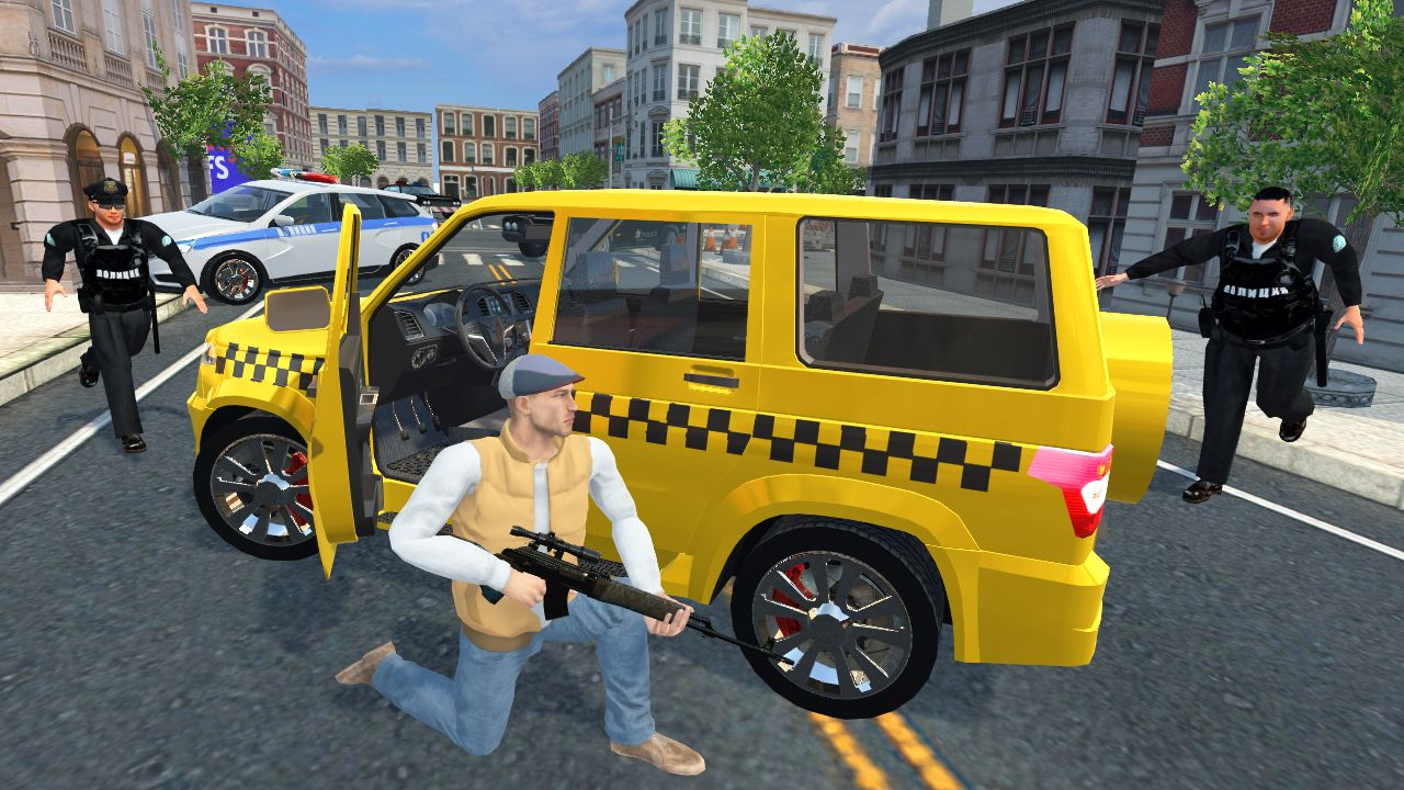 Real Gangster Simulator Grand City capture d'écran 1