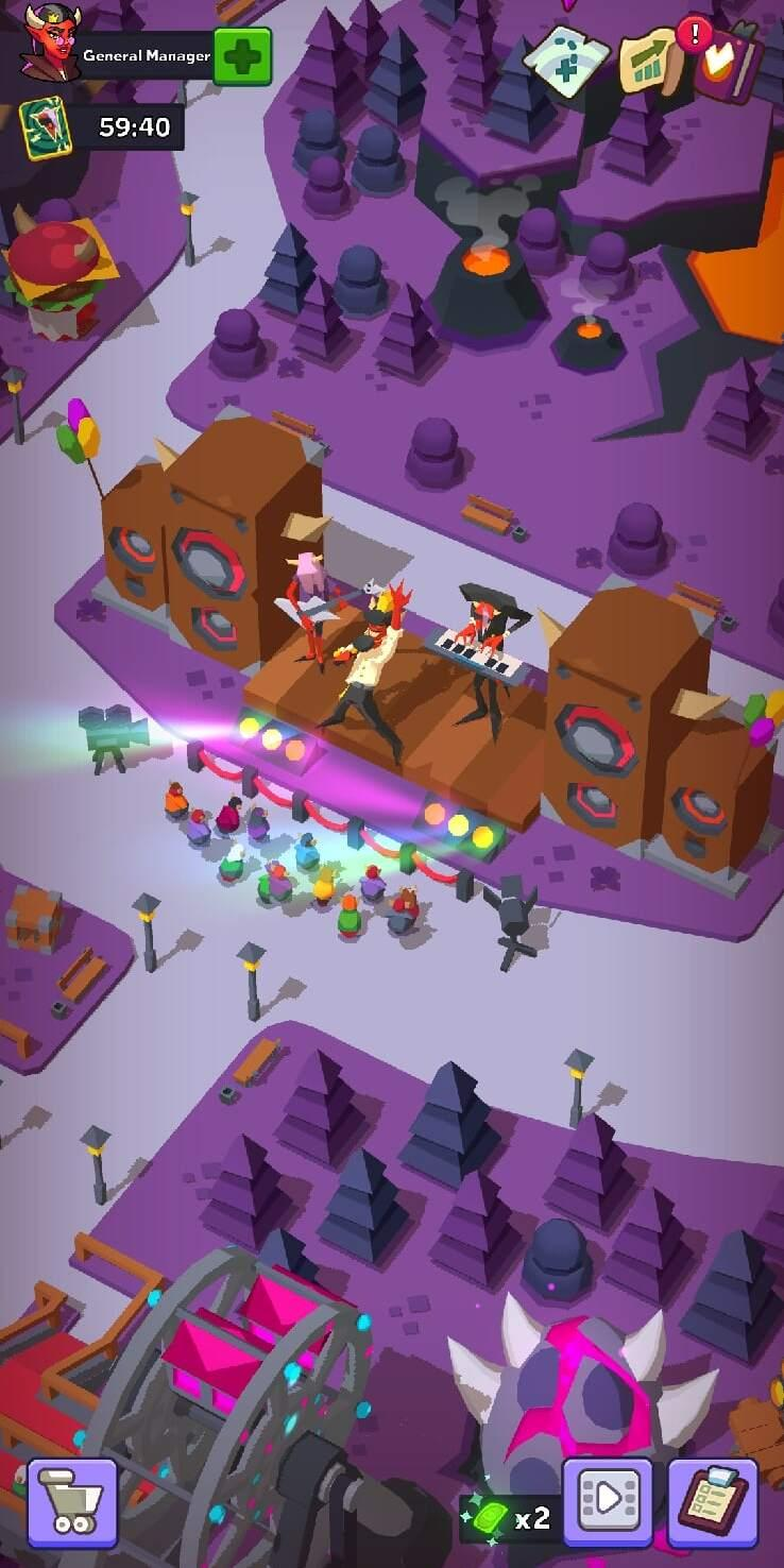 Hell Park - Tycoon Simulator screenshot 1