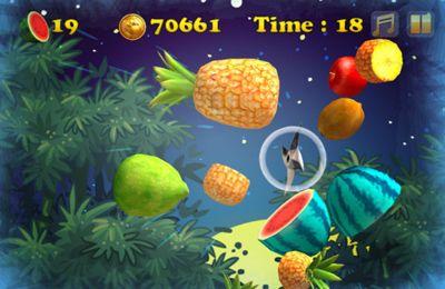 Zombies-Ninja enojados contra las verduras para iPhone gratis