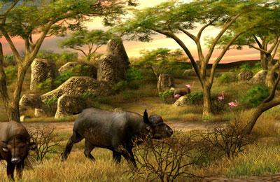 Le Grand Safari Africain en russe