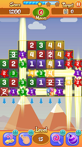 Candy numbers match 3 für Android
