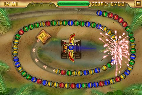 Screenshot Tempel des Anubis auf dem iPhone
