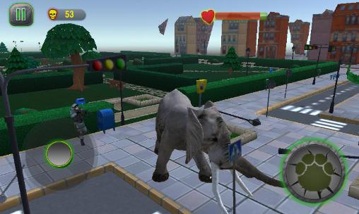 Ultimate elephant rampage 3D für Android