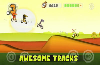 Arcade-Spiele: Lade Motocross Elite auf dein Handy herunter