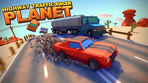 Highway traffic racer planet Symbol