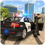 Police car chase: Cop simulator icône