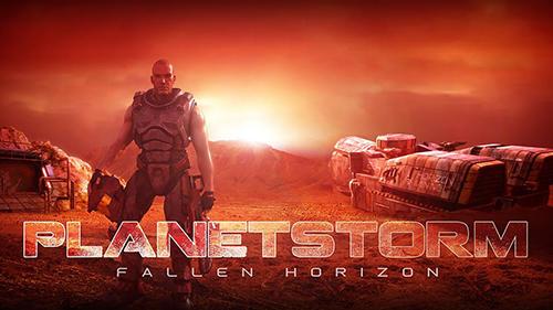 Planetstorm: Fallen horizon Screenshot