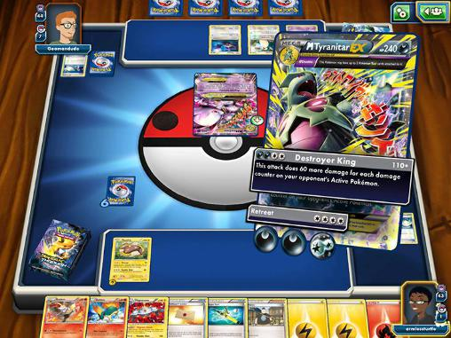 Android Brettspiele für BlackBerry: Pokemon: Trading card game online