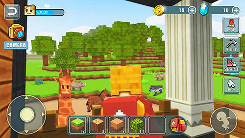 Sandbox World craft building auf Deutsch