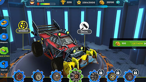 Clash for speed: Xtreme combat racing für Android