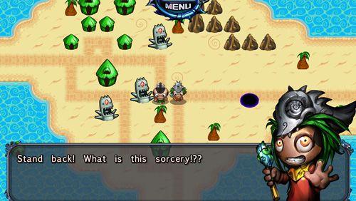 Arcade-Spiele: Lade Taschengott vs. Wüstenaschen auf dein Handy herunter