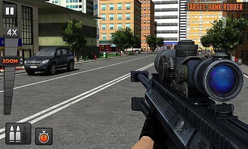 Street bank robbery 3D: Best assault game para Android