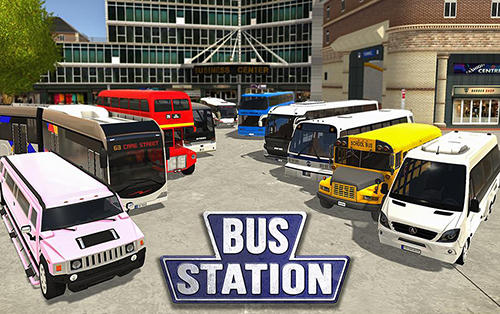 Bus station: Learn to drive! Screenshot