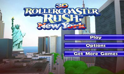 Arcade 3D Rollercoaster Rush. New York for smartphone