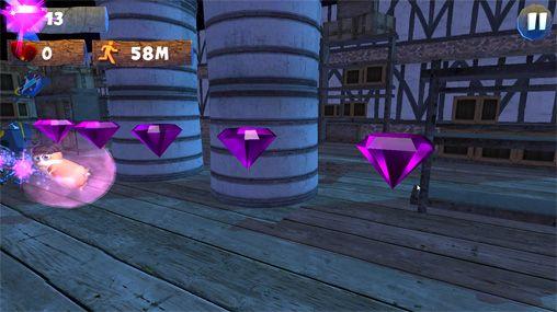 Screenshot Hamstrong: Schlosslauf auf dem iPhone