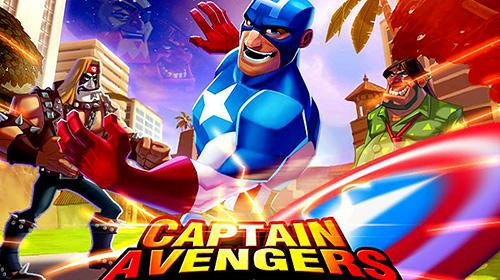 Battle of superheroes: Captain avengers icon