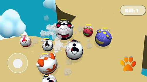 Arcade Meow.io: Katzenkämpfer für das Smartphone