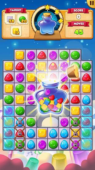 Arcade Candy wish für das Smartphone