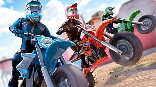 Гонки: скачать Free motor bike racing: Fast offroad driving gameна телефон