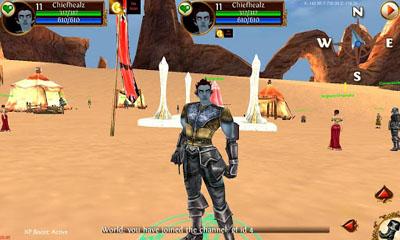 Midgard Rising 3D MMORPG screenshot 4
