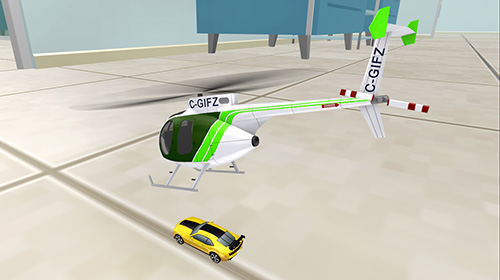 Helicopter RC flying simulator screenshot 1