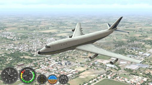 Boeing flight simulator 2014 für Android