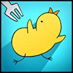 Chicken vs man Symbol