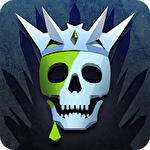 Thrones: Kingdom of elves. Medieval game Symbol
