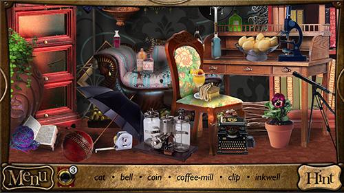 Abenteuer-Spiele Detective Sherlock Holmes: Spot the hidden objects für das Smartphone
