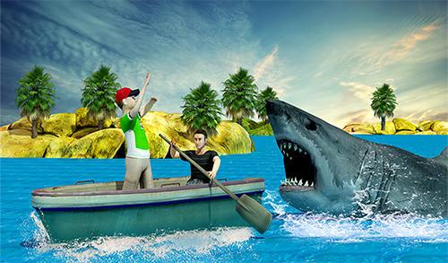 Action Shark hunting 3D: Deep dive 2 für das Smartphone