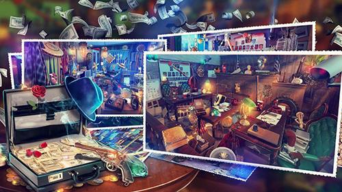 Abenteuer-Spiele Hidden objects: Gangster rebellion. Crime scene für das Smartphone