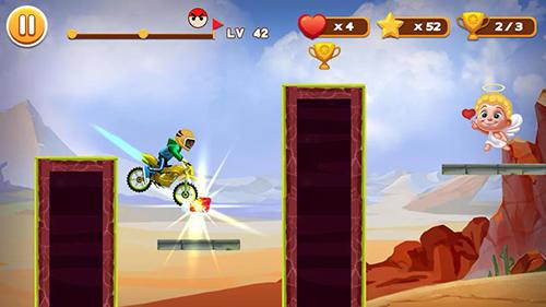 Arcade Stunt moto racing für das Smartphone